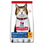 Hill's Science Plan Active Longevity сухой корм для кошек старше 7 лет с курицей...