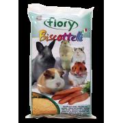 FIORY бисквиты для грызунов Biscottelli с морковью 35 г...