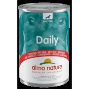 """Консервы Almo Nature Daily with Beef """"Меню с Говядиной"""" для собак 400г..."""