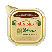 Консервы Almo Nature Biorganic with Veal and Vegetables Био-меню паштет с теляти...