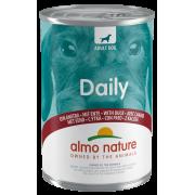 "Консервы Almo Nature Daily with Duck ""Меню с Уткой"" для собак 400гр..."