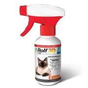 Спрей Rolf Club 3D от блох и клещей для кошек, 200мл