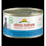 Консервы Almo Nature HFC Natural Skip Jack Tuna and Cod с полосатым тунцом и тре...