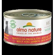 Консервы Almo Nature HFC Natural Beef with Ham с говядиной и ветчиной для собак...
