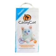 Минеральный впитывающий наполнитель CleanyCat 4.5л для котят и короткошерстных к...