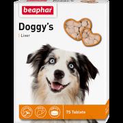 "Витамины Beaphar ""Doggy's"" ливер для собак, 75шт..."