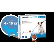 Таблетки Merial Фронтлайн Нексгард жевательные (4 недели), для собак 4,1-10 кг, ...