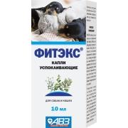 Фитэкс : капли для кошек и собак успокаивающее средство 10мл ...