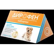 Apicenna: Дирофен Плюс для крупных собак, 1таб./20кг, 6таб....