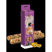 Лакомство Little One палочки для хомяков, крыс, мышей и песчанок с ягодами 60гр*...