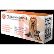 Apicenna: Гельмимакс-4 для щенков и собак мелких пород, 2таб./0,12мг 2-4кг...