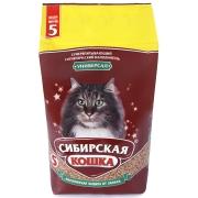 """Минеральный впитывающий наполнитель Сибирская кошка """"Универсал"""" для ко..."""