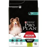 Сухой корм Pro Plan для взрослых собак средних пород с чувствительным пищеварени...