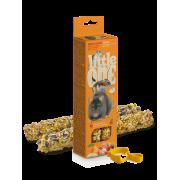 Лакомство Little One палочки для хомяков, крыс, мышей и песчанок с фруктами и ор...