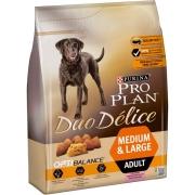 Сухой корм Pro Plan Duo Delice для собак взрослых всех пород, лосось+рис...