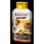 """Шампунь Rolf Club Keratin+ """"Sensitive"""", для аллергичных кошек и собак,..."""
