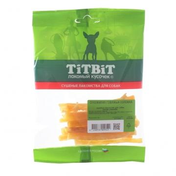 Лакомство TiTBiT для собак сухожилия говяжьи соломка (мягкая упаковка)