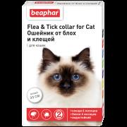 Ошейник Beaphar от блох и клещей (5мес), 35см для кошек...