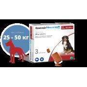 Таблетки Merial Фронтлайн НексгарД 136мг от блох и клещей для собак 25-50 кг, 3 ...