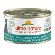 Консервы Almo Nature HFC Complete Made in Italy Steamed lamb with Zucchini and D...