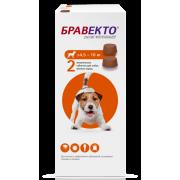 Препарат Intervet Бравекто 250мг от блох и клещей для собак 4,5-10кг 2 таб....