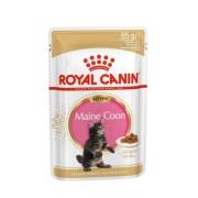 Влажный корм Royal Canin Maine Coon Kitten в соусе для котят породы мейн-кун, 85...