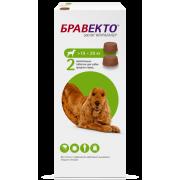 Препарат Intervet Бравекто 500мг от блох и клещей для собак 10-20кг 2 таб....