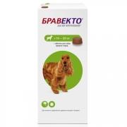Препарат Intervet Бравекто 500мг от блох и клещей для собак 10-20кг 1таб. (12 не...
