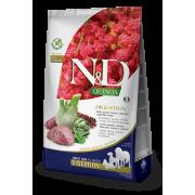Сухой корм Farmina N&D DOG QUINOA LINE ягненок и киноа для поддержки пищевар...