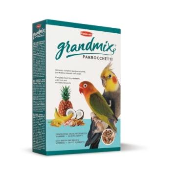 Корм Padovan Grand Mix Parroccetti для средних попугаев основной