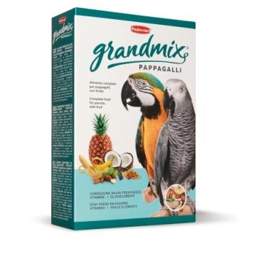 Корм Padovan Grand Mix Pappagalli для крупных попугаев основной