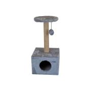 Домик RP8111с когтеточка квадратный малый (сизаль) для кошки...