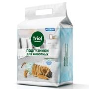 Подгузники Triol для животных M (7-16кг),12шт