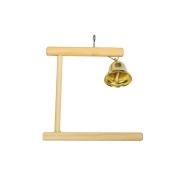 Игрушка для птиц RP8540 Качель деревянная с колокольчиком...