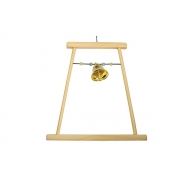 Игрушка для птиц RP8541/RP8543 Качели деревянные с бусами...