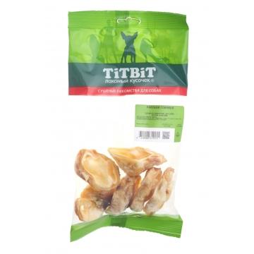 Лакомство TiTBiT для собак ракушки говяжьи (мягкая упаковка)