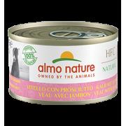 Консервы Almo Nature HFC Natural Veal with Ham с телятиной и ветчиной для собак...
