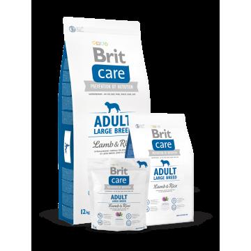 Сухой корм Brit Care Dog Adult Large breed для собак крупных пород ягненок