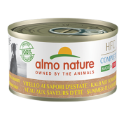 Консервы Almo Nature HFC Complete Made in Italy Summer Flavoured Veal Итальянски...