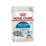 Влажный корм Indoor Sterilized 7+ years (в соусе) для кошек 85гр...