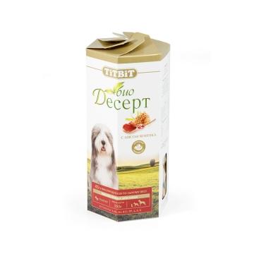 Лакомство TiTBiT Био Десерт печенье с ягненком для собак