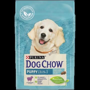 Сухой корм Dog Chow puppy для щенков, ягнёнок