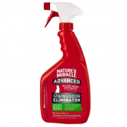 Средство 8in1 уничтожитель пятен и запахов от кошек NM Advanced с усиленной форм...