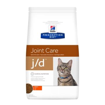 Сухой корм для кошек Hill's Prescription Diet j/d Joint Care для поддержания здоровья и подвижности суставов, с курицей 2 кг