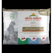 Влажный корм Almo Nature HFC Multi Pack Jelly Tuna для кошек с тунцом набор 6 шт...