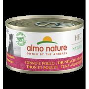 Консервы Almo Nature HFC Natural Tuna and Chicken с тунцом и курицей для собак...