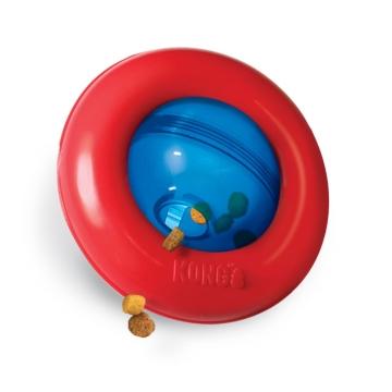 Kong игрушка-интерактивная под лакомства Gyro 13 см малая