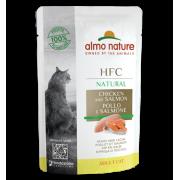 Влажный корм Almo Nature HFC Natural Chicken and Salmon с Курицей и Лососем для ...