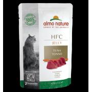 Влажный корм Almo Nature HFC Jelly with Tuna Тунец в Желе для кошек, 55гр ...