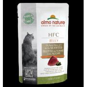Влажный корм Almo Nature HFC Jelly Tuna Fillet and Seaweed с Тунцом и Морскими в...